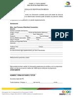 Cedula de Padecimientos Medicos (1)