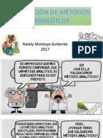 Validacion de Metodos Analiticos ( Retroalimentacion)
