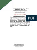 Ley de Justicia Administrativa Del Estado de Nuevo Leon Reforma 18 Enero 2017