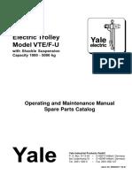 yaleelectrictrolleyModel VTEF