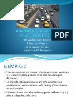 0822 Transportes Clase 05 Analisis de Segmentos e Intersecciones.pptx