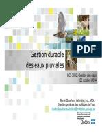 07 Eaux Pluviales MDELCC MBV a 2014