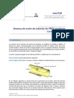 InfoTUB N 16-015 PRFV Campana-Espiga