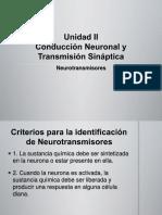 Unidad II. Neurotransmisores.ppt