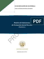 Propuesta Modelo Subsistema FID