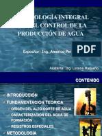 6. Metodología Control de Agua
