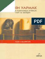 Alex Callinicos Tarih Yapmak Doruk Yayınları