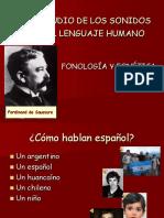 ESTUDIO DE LOS SONIDOS DEL LENGUAJE HUMANO.ppt
