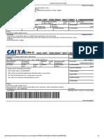 Boleto Caxias - Concurso