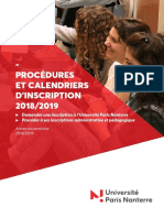 201806 DES Procedures Calendrier Inscription 2018 2019 Final Signature