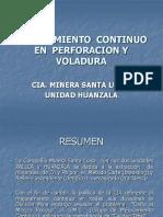 Mejoramiento Continuo en Perforacion y Voladura -Santa Luisa