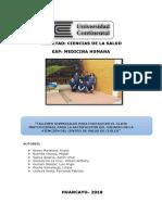 PROYECCION SOCIAL - TALLERES VIVENCIALES PARA FORTALECER EL CLIMA INSTITUCIONAL