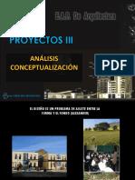 Toma de Partido arquitectonico -arquitectura
