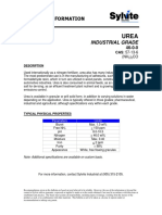 Industrial Urea TDS