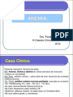01) Anemias. Enfoque Clínico