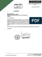 Wilbert Rozas asume denuncia de ciudadano que incluye a consejero Águila