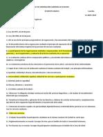 Test Nº 5 Ley de Ordenación Sanitaria de Euskadi (1)