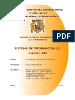 ANALISIS DE SISTEMAS DE INFORMACION - FINAL SIG