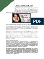 Día del idioma Castellano 23 de Abril.docx