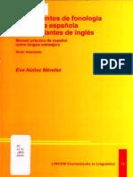 Fundamentos de Fonología y Fonética Española Para Hablantes de Inglés - Manual Práctico de Español Como Lengua Extranjera (Eva Nüñez Méndez)