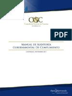 Manual de Auditoria Gubernamental de Cumplimiento