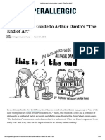 An Illustrated Guide to Arthur Danto's _The End of Art
