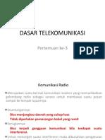 Dasar Telekomunikasi 3 1718