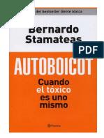 CCuando El Tóxico Es Uno Mismo- Bernardo Stamateas