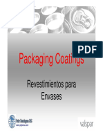 Packaging Coatings - Cans