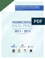 01 Homicidios en El Peru 2011 2013 Ok