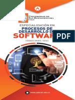 Especializacion en Procesos de Desarrollo de Software 2018 Normal