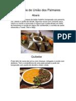 Culinária de União Dos Palmares