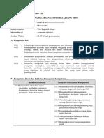 CONTOH RPP MATEMATIKA KURIULUM 2013 REVISI PPK