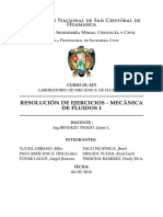 MECÁNICA DE FLUIDOS I