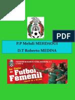 Planificación Entrenamiento Fútbol Femenil