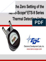 ETS-9 Series Electronic Zero & Meter Balance Instructions