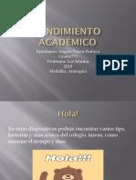 Rendimiento Académico