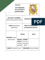 Cuarto Informe Final Dispositivos Electronico