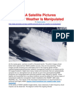 NASA Satellite Pictures Prove Our Weather is Manipulated