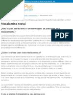 Mesalamina Rectal