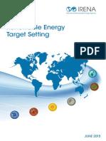 IRENA RE Target Setting 2015