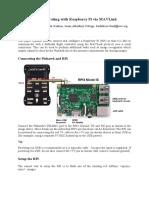 Communicating With Raspberry Pi via Mav Link
