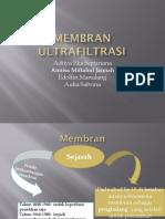 Membran Ultrafiltrasi Ppt Fix