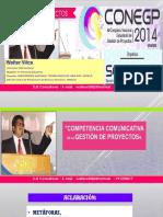 Competencia Comunicativa en La Gestión de Proyectos