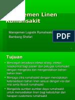 Manajemen Logistik Linen