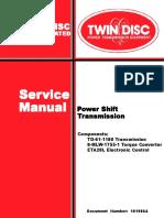 Twin Disc Service Manual