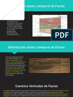 Distribucion de Facies