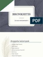 Bronkhitis ppt