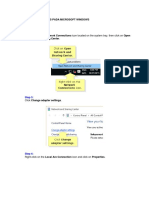 Cara Seting Ip Address Pada Microsoft Windows