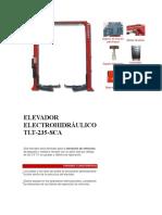 ELEVADOR ELECTROHIDRÁULICO